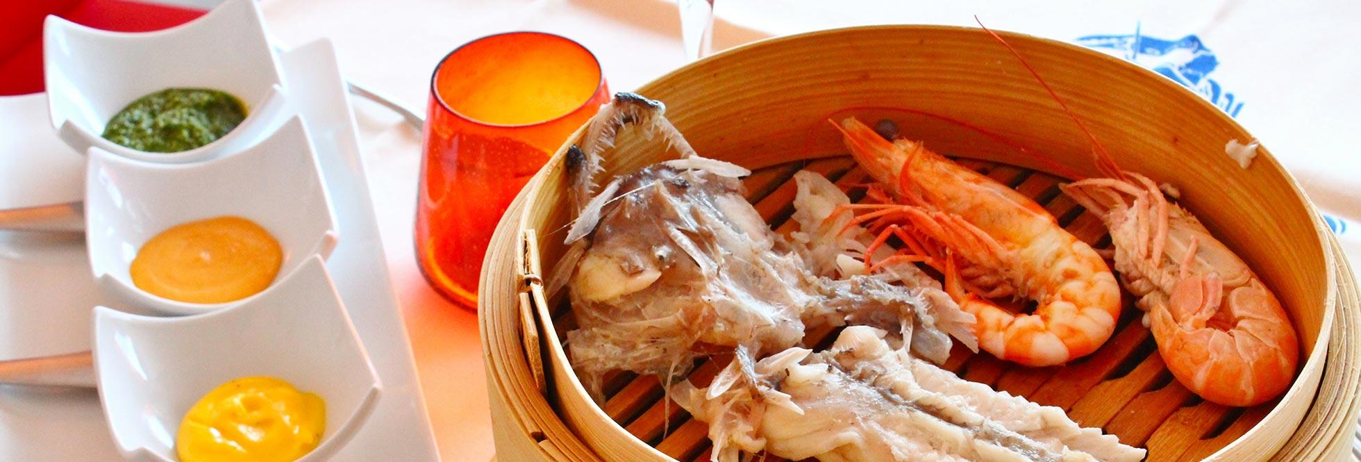 Menu di pesce ristorante Galileo
